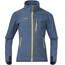 Bergans Youth Runde Jacket Steel Blue/Yellowgreen/Dark Steel Blue